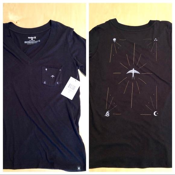Hurley Graphic Tee Womens T-Shirt New NWT u choose